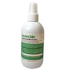 Desinclor Clorhexidina solucion alcoholica antiseptica incolora 2% 250ml , con pulverizador