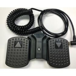 Pedal de repuesto Dewert para camillas eléctricas de un motor