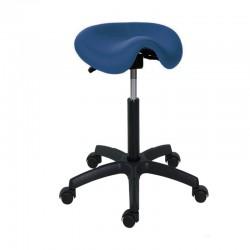 Taburete Economy Tipo pony o silla de montar con altura de 44 - 57 cm (Varios colores disponibles)