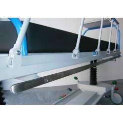 2 Carriles laterales de pletina 25*10 mm
