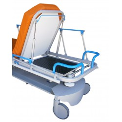 Guias y bandeja porta-chasis radiografías 48*61 cm