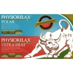 Physiorelax Pack Promocional Polar + Ultra Heat 2 botes x 75 ml