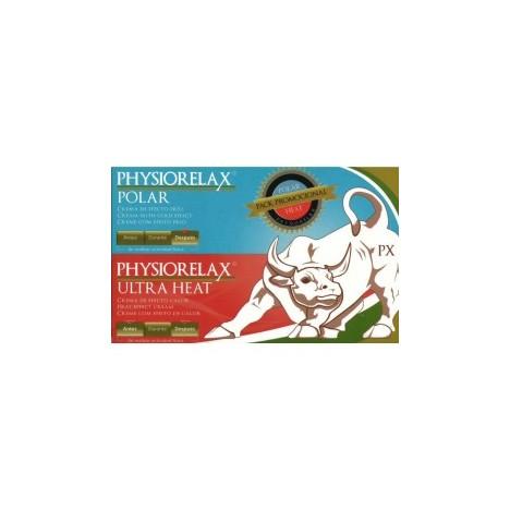 Physiorelax Pack Promocional Polar + Ultra Heat 2 botes x 75 ml