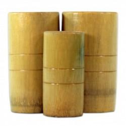Ventosas bambu (3 piezas)