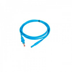 Cable resistivo con conector macho de Ø4mm para electrodos miofasciales compatible con Diacare 5000 y Globus Beauty 6000