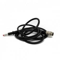 Cable adaptador para electrodo flexible compatible con dispositivo Diacare 7000 (Ref. G5123)