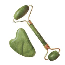 Set rodillo de jade + gua sha