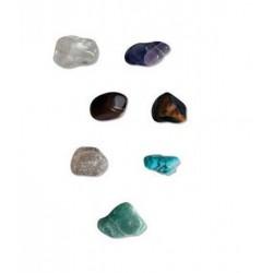 Juego 7 piedras para chakras