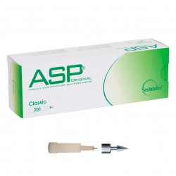 Chincheta de auriculoterapia semipermanente ASP de acero