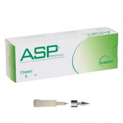 Chincheta de auriculoterapia semipermanente ASP de titanio