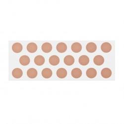 Adhesivo para chinchetas de plástico circular Ø12mm