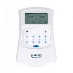 Electroestimulador de Acupuntura As Super 4 Digital: 30 programas con 4 canales hasta 8 agujas