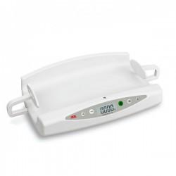 Pesabebés digital con tallímetro incorporado: Peso máximo 20 kg y graduación 5 g