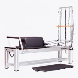 Reformer Physio de aluminio: Torre y caja incluidos, versatilidad y multifuncionalidad (Colores de tapicería disponibles)
