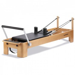 Pilates reformer curve madera