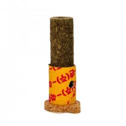 Moxa hueca adhesiva con ajo y jengibre con humo