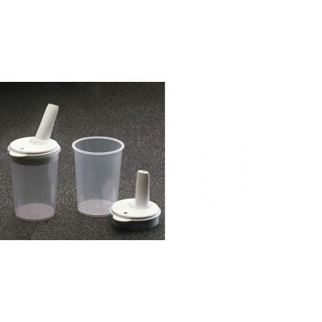 Taza con tetina regulable de 8 mm